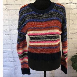 Serendipity striped sweater